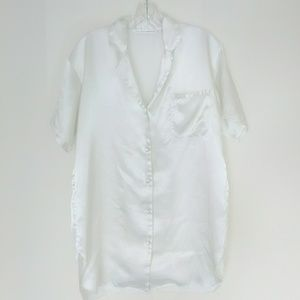 Victoria's Secret White Button Down